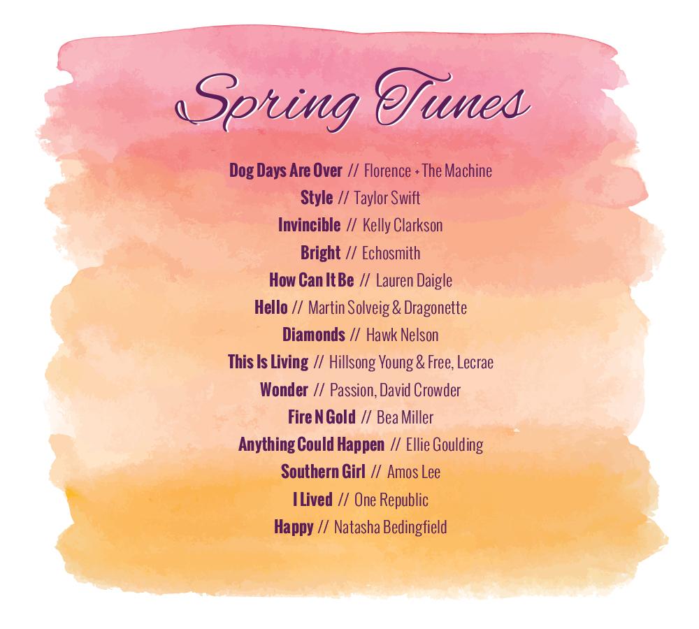 Spring Tunes | heartnatured