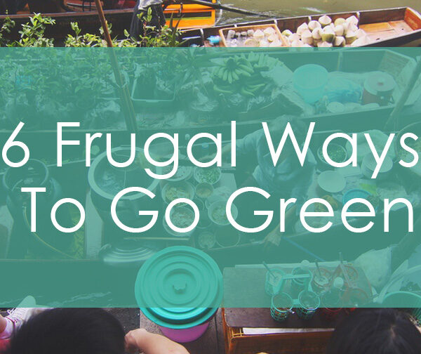 6 Frugal Ways We Live Green-Ly