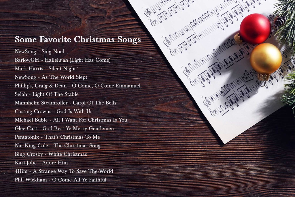 Favorite Christmas Tunes | heartnatured