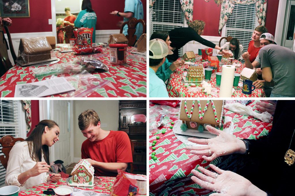 Gingerbread Houses & A New 'Do' | heartnatured