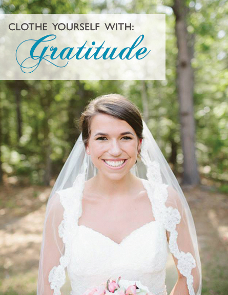 Clothe Yourself With Gratitude | heartnatured