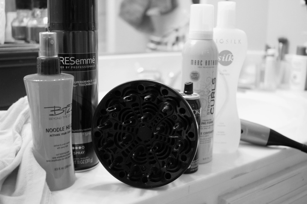 My Curly Hair Care Essentials | heartnatured
