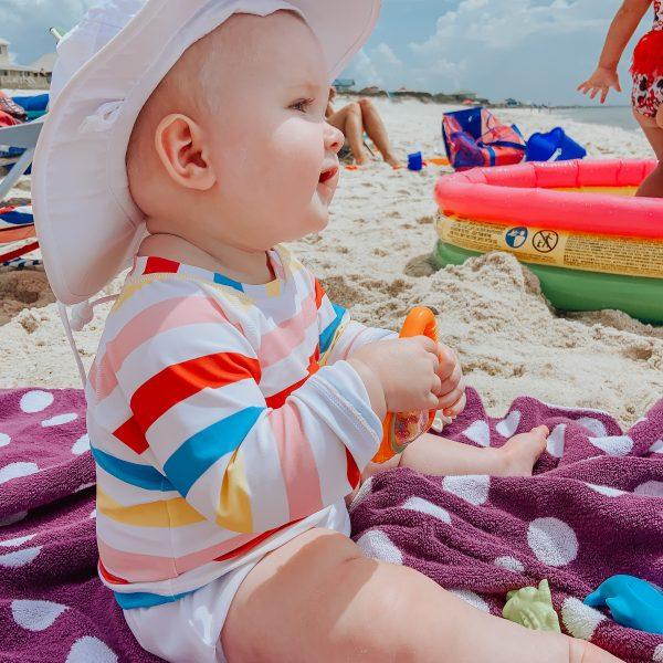 Anna's First Beach Trip
